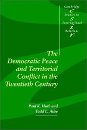The Democratic Peace and Territorial Conflict in the Twentieth Century