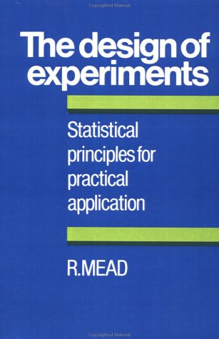 The Design of Experiments: Statistical Principles for Practical Applications 9780521287623