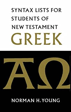 The Elements of New Testament Greek 9780521002578