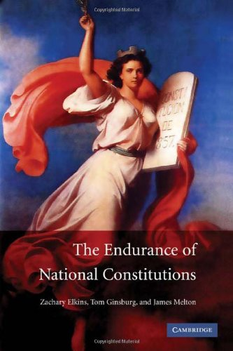 The Endurance of National Constitutions 9780521515504