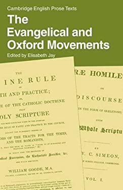 The Evangelical and Oxford Movements 9780521286695