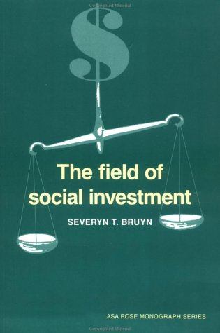 The Field of Social Investment 9780521407762