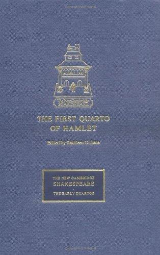 The First Quarto of Hamlet 9780521653909