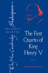 The First Quarto of King Henry V 1719771