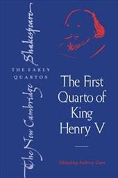 The First Quarto of King Henry V 1766650