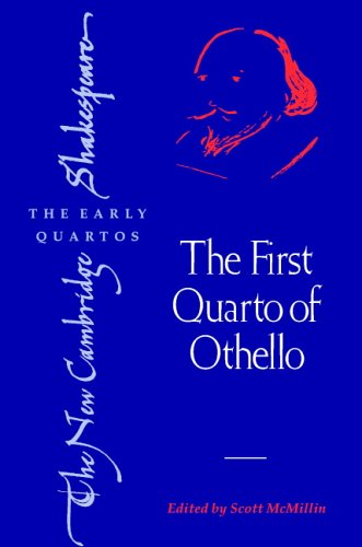 The First Quarto of Othello 9780521615945