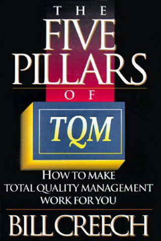 The Five Pillars of TQM: 8how to Make Total Quality Management Work for You 9780525937258