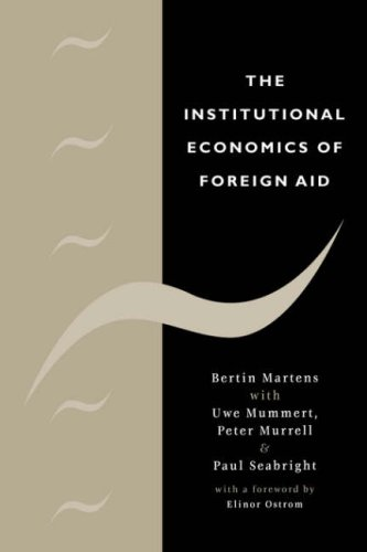 The Institutional Economics of Foreign Aid 9780521055390