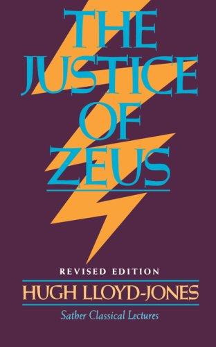 The Justice of Zeus 9780520046887