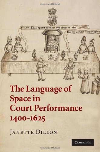 The Language of Space in Court Performance, 1400-1625 9780521886413