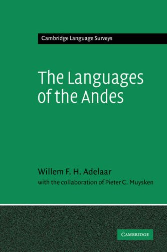 The Languages of the Andes 9780521362757