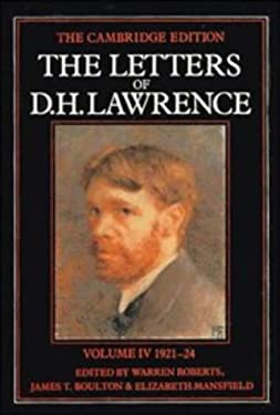 The Letters of D. H. Lawrence: 1921-1924 9780521231138