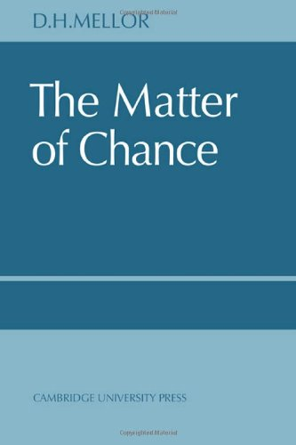 The Matter of Chance 9780521615983