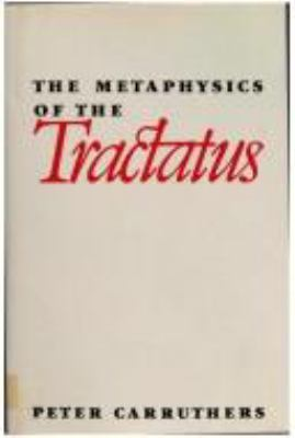 The Metaphysics of the Tractatus 9780521391313