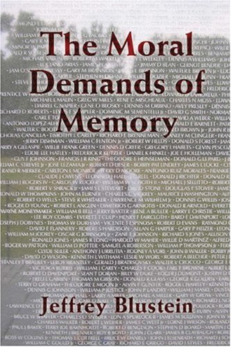The Moral Demands of Memory 9780521709729
