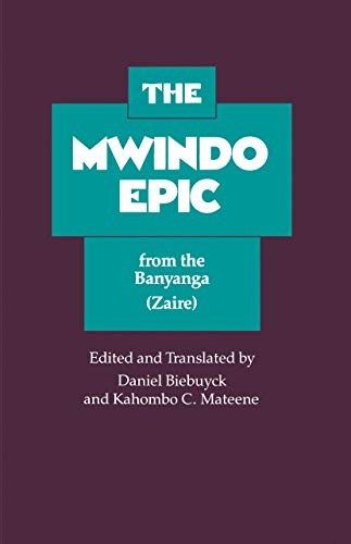 The Mwindo Epic from the Banyanga (Zaire) 9780520020498