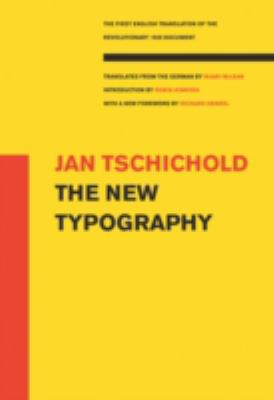 The New Typography: (A Centennial Book) 9780520071469