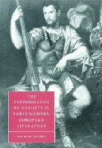 The Performance of Nobility in Early Modern European Literature 9780521661812