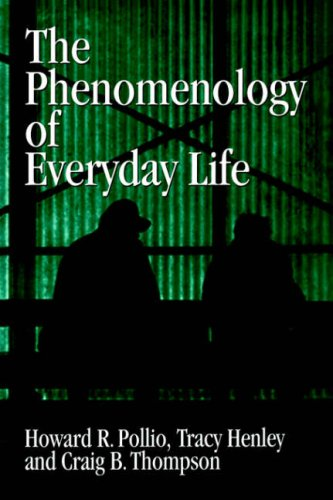 The Phenomenology of Everyday Life: Empirical Investigations of Human Experience 9780521031400