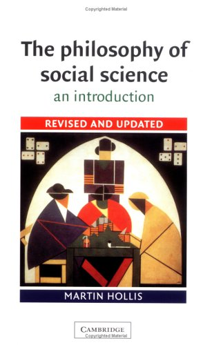 The Philosophy of Social Science: An Introduction 9780521447805