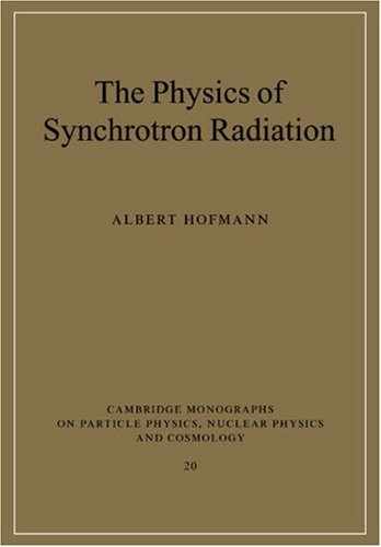The Physics of Synchrotron Radiation 9780521037532