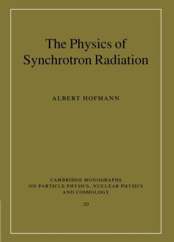 The Physics of Synchrotron Radiation 9780521308267