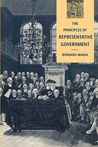 The Principles of Representative Government 9780521458917