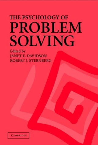 The Psychology of Problem Solving 9780521797412