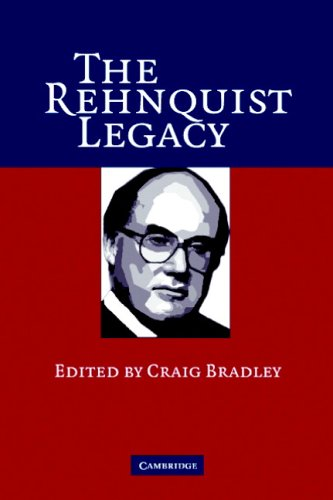 The Rehnquist Legacy 9780521683661