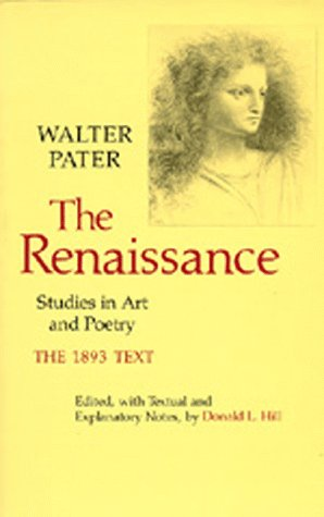 The Renaissance: Studies in Art and Poetry 9780520036642