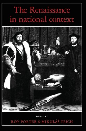 The Renaissance in National Context 9780521369701