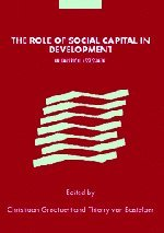 The Role of Social Capital in Development: An Empirical Assessment 9780521812917