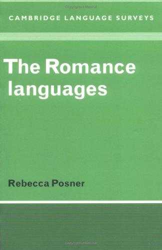The Romance Languages 9780521281393