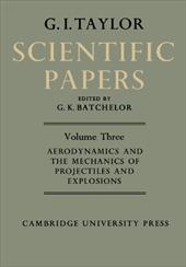 The Scientific Papers of Sir Geoffrey Ingram Taylor