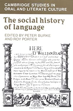 The Social History of Language 9780521317634