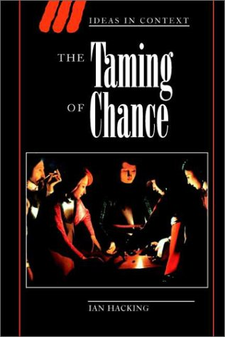 The Taming of Chance 9780521388849