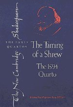 The Taming of a Shrew: The 1594 Quarto 9780521563239