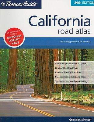 The Thomas Guide California Road Atlas 9780528868207