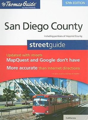 The Thomas Guide San Diego County Street Guide 9780528874642