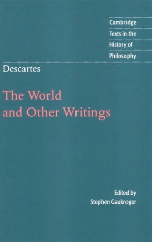 Descartes: The World and Other Writings 9780521631587