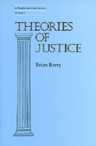 Theories of Justice: A Treatise on Social Justice, Vol. 1 9780520076495