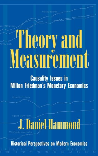 Theory and Measurement: Causality Issues in Milton Friedman's Monetary Economics 9780521552059