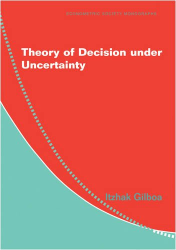 Theory of Decision Under Uncertainty 9780521741231