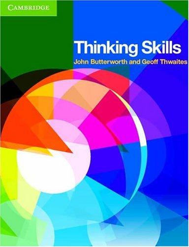 Thinking Skills 9780521521499
