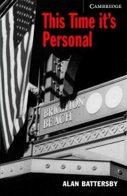 This Time It's Personal [With CD] 9780521686068