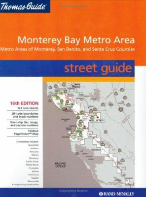 Thomas Guide-Monterey Bay Metro Area // Metro Areas of Monterey, San Benit 9780528956690