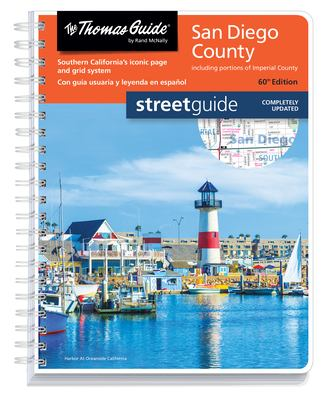 Thomas Guide: San Diego County Street Guide 60th Edition (English and Spanish Edition)
