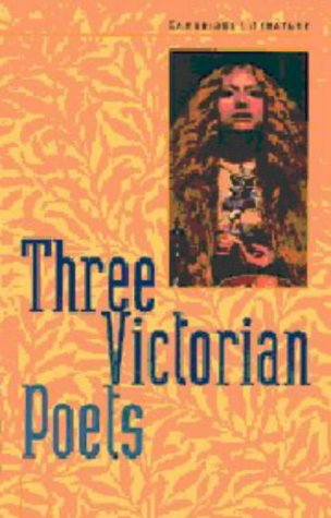 Three Victorian Poets 9780521627108
