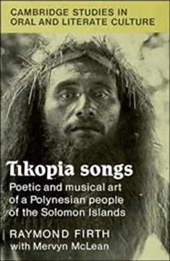 Tikopia Songs 9780521391290