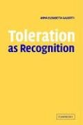 Toleration as Recognition 9780521619936